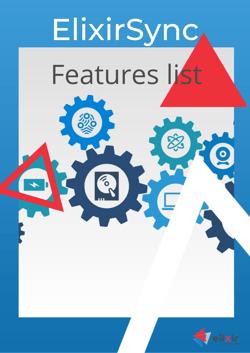 ElixirSync features list