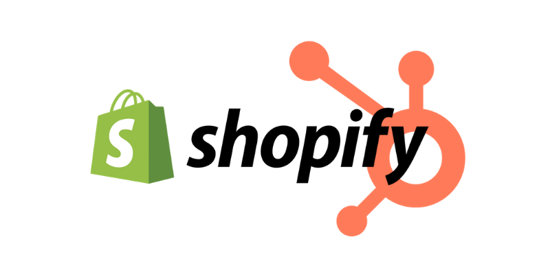 Hubspot integrations page- shopify
