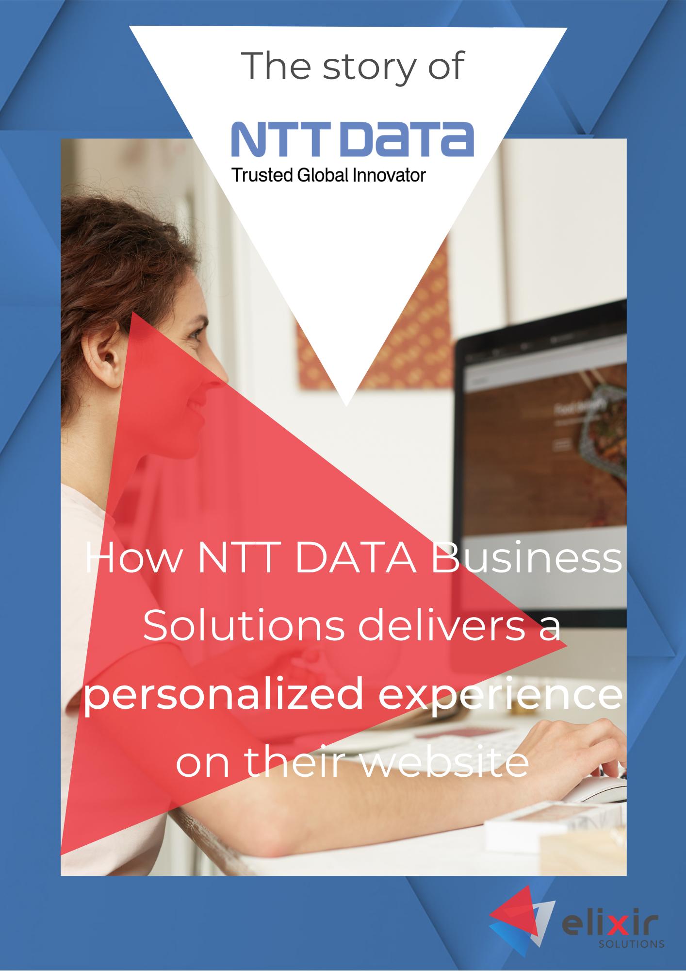 Customer cases cover ntt data business solutions